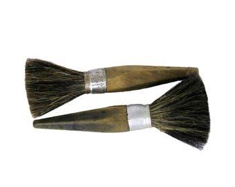 Vintage paintbrush, antique brush, wooden brush, painting, old brush, vintage brush