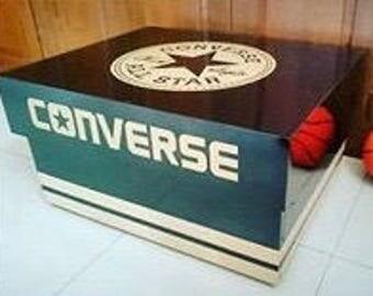 "Giant Shoe Storage Box ""Converse""  (12 or 16 Pair)"