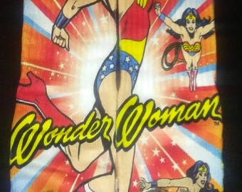 Wonder Woman animation custom socks