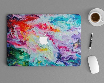 "Oil Paint Macbook Laptop Notebook Sticker Skin vinyl Decal 710 11"", 13"", 15"" , 17"" inches"