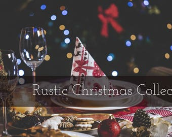 Lightroom Presets: Rustic Christmas Collection (20 Presets)