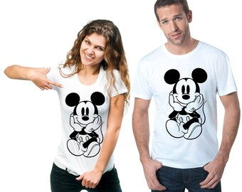Disney T-Shirt Mickey Mouse Men's  Women's and Shirt