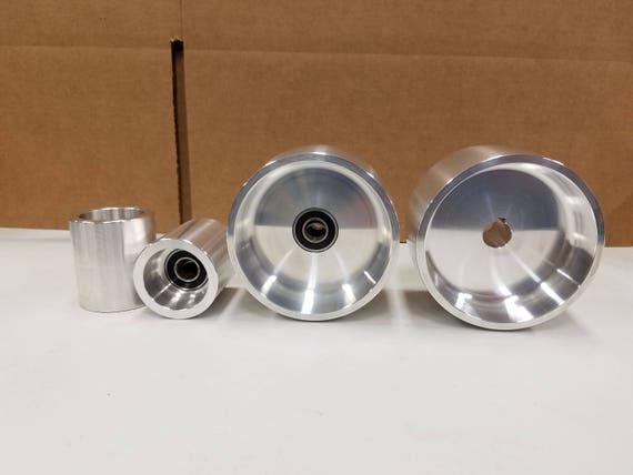 Complete 2x72 Belt Grinder 4 Drive Wheel Kit