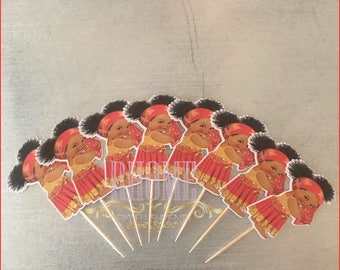 Cupcake Toppers (Gypsie Babygirl)