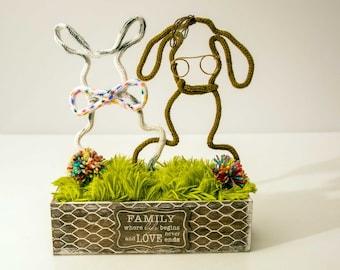 HOT inspired by John Oliver # Marlon Bundo bunny # LGBTQ #pride Set of 2 bunnies rabbit