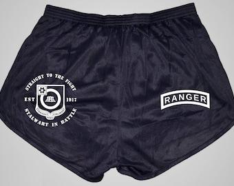 Ranger Panties, Soffe Ranger shorts customizable