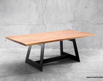 Solid dining table twoO