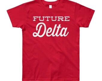 Youth Future Delta Sigma Theta Short Sleeve T-Shirt