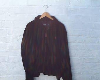 Ralph Lauren corduroy bomber jacket