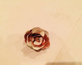 Rose Gold Brooch/Corsage