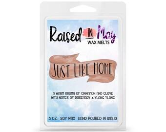 Just Like Home Wax Melts - Wax Melts - Candles - Wax Cubes - Soy Wax Melts - Soy Wax - Home Fragrance - Fragrance Wax - Wax Tarts - Soy Wax