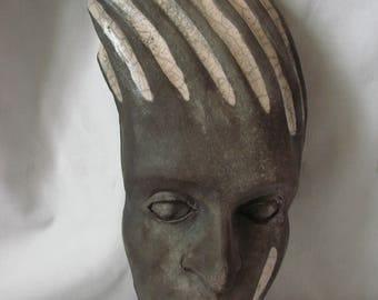 Mask raku - hanging Decoration