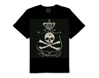 Royal Pirate Jolly Roger Goth T Shirt