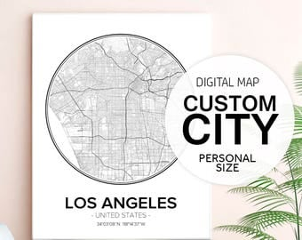 Custom City Maps, Custom Map Art, Custom Map Art Digital, Custom Map Gifts, Custom Map Print, Map Art Print, Map Wall Art, Map Decor, Pdf
