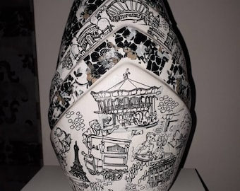 Paris Decopatch Vase
