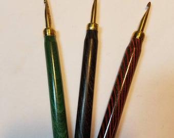 Ritchie Brass Rug Hooking Hooks