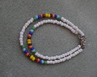 Ankle bracelet and bracelet combination