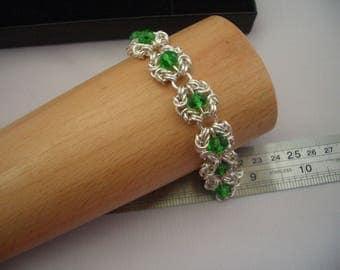 Crystal Byzantine Romanov Bracelet