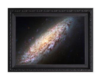 NGC 6503 Nasa 'Lonely Galaxy Lost in Space' Poster or Art Print