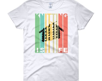 Knitting Is Life Women's short sleeve t-shirt