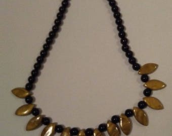 Handcrafted necklace made in ethnic style
