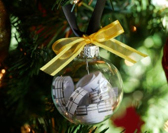 Musical Broadway Christmas ornaments, Christmas Ornament, Broadway Musical, custom Christmas ornaments