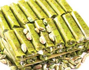 Pistachio Paste Rolls (48 pieces total- 17-18grams/0,60-0,63oz each)