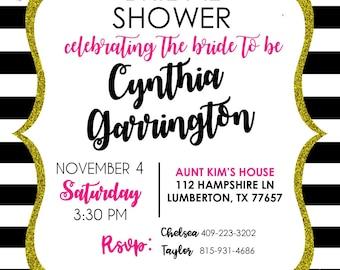 Kate Spade Invitations