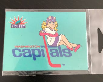 The Muppets Washington Capitols Fridge Magnet