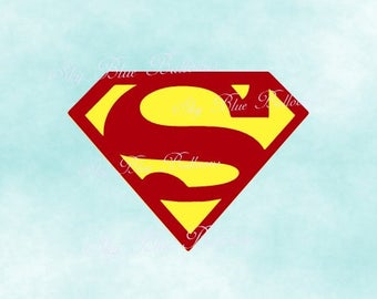 Superman logo Etsy