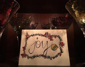 Christmas Card- Joy!