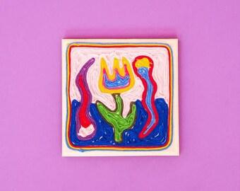 MEXICO: Yarn Art