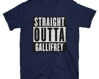 Straight Outta Gallifrey tshirt (Doctor Who)