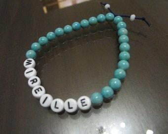 Personalized Bracelet, bracelet, bridesmaids, personalized bracelet, name bracelet gift bracelet