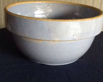 Vintage Mixing Bowl - Blue
