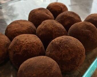 Keto Dark Chocolate Truffles
