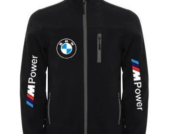 Stylish Roly Soft Shell Jacket Wind And Water Resistant BMW MPower
