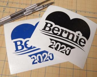 Bernie Sanders 2020 Decal     Feel the bern  Sticker