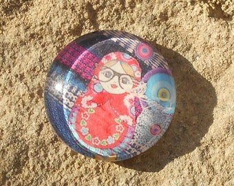 Design 20 mm glass cabochon