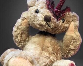 Beary Scary Split Head Bear