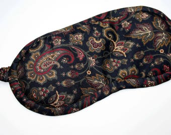 Sleeping mask made of pure silk men/FrauenUpcycling