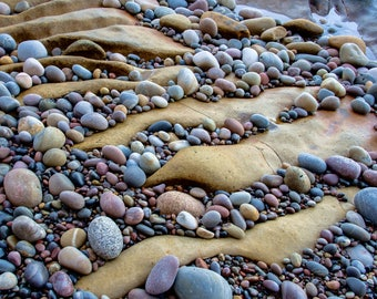 """Rivers of Stone : 5"""" x 7"""" Greeting Card, Blank inside, with envelope"""