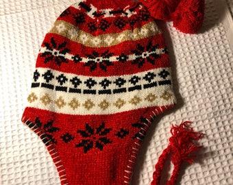 Kids Christmas/winter knit hat beanie
