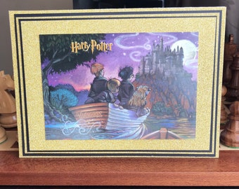 Harry Potter Handmade Blank Card