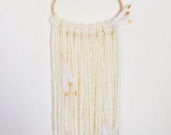 Yarn Fiber Wall Hanging