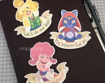 Animal Crossing New Leaf: Die-Cut Stickers