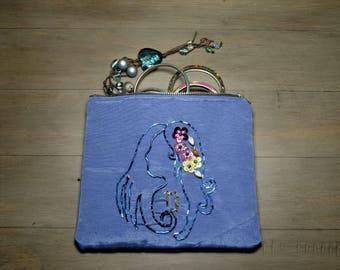 Virgo Astrology Cosmetic / Jewellery Pouch