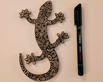 Wooden Gecko