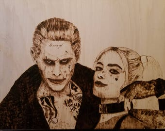 Joker and Harley with color