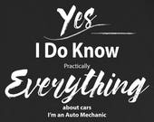Auto Mechanic T Shirt I K...